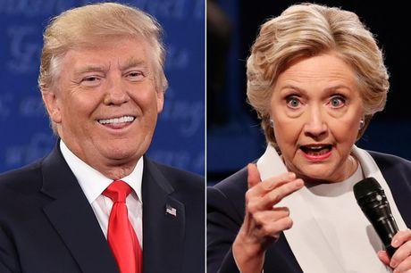 Hillary Clinton co 90% co hoi danh bai Donald Trump - Anh 1