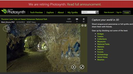 Microsoft dong cua dich vu tao anh 360 do Photosynth - Anh 1