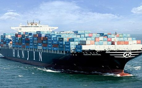 Hon 4.000 container cua hang tau Hanjin ton dong tai Viet Nam - Anh 1