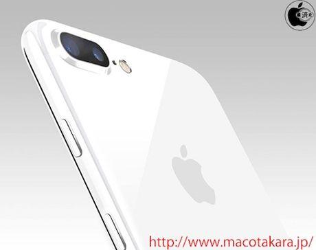 Apple co the ra iPhone 7 mau trang - Anh 1