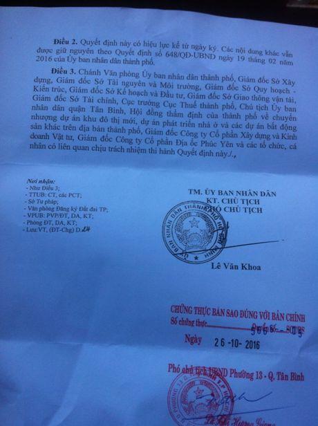 TP HCM: Lum xum tai Du an chung cu Phuc Yen - Anh 2