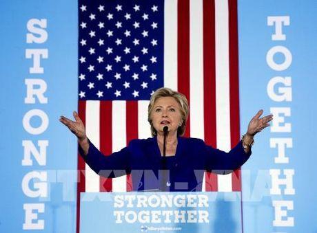 Bau cu My 2016: Ba Clinton van dong tranh cu quy mo lon tai bang 'chien dia' Pennsylvania - Anh 1