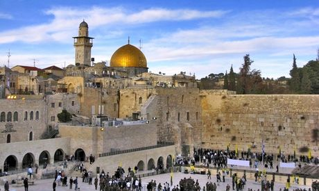 Thanh co Jerusalem - Anh 1