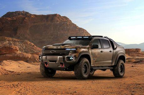 Ban tai Chevrolet Colorado ZH2 danh rieng cho quan doi - Anh 1