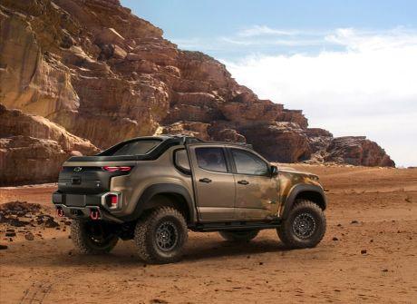 Ban tai Chevrolet Colorado ZH2 danh rieng cho quan doi - Anh 3