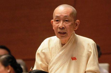 Hoa thuong Thich Chon Thien, Dai bieu Quoc hoi khoa XIV qua doi - Anh 1