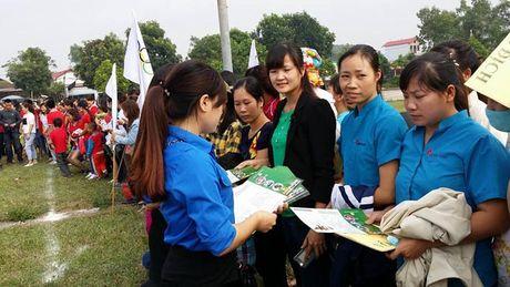 Tung bung Ngay hoi Van hoa CNLD huyen Tan Yen (Bac Giang) - Anh 4