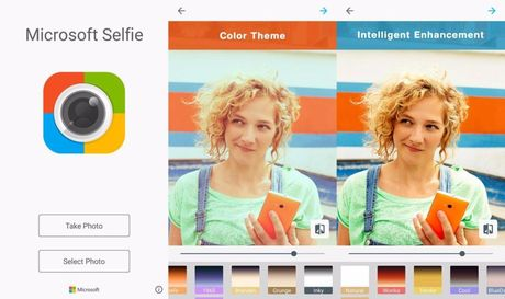 Microsoft ra mat ung dung chup anh selfie cho Android - Anh 1