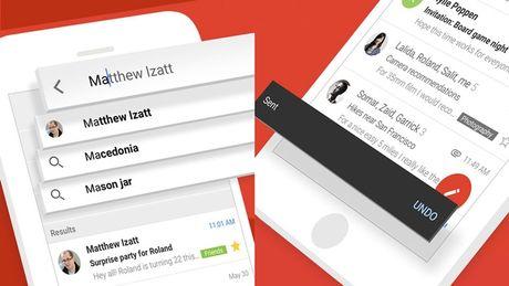 Gmail tren iPhone cap nhat lon: Tang hieu nang, lay lai mail da gui - Anh 1