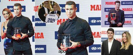 Ronaldo lien tiep nhan tin vui - Anh 1