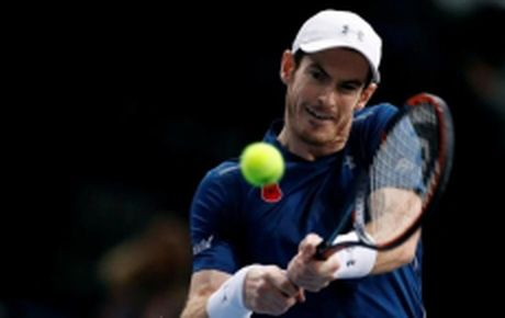 Andy Murray gap Marin Cilic o tran ra quan World Tour Finals 2016 - Anh 1