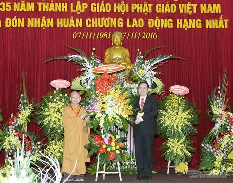 BAN TIN MAT TRAN: Dai le ky niem 35 nam thanh lap Giao hoi Phat giao Viet Nam - Anh 1
