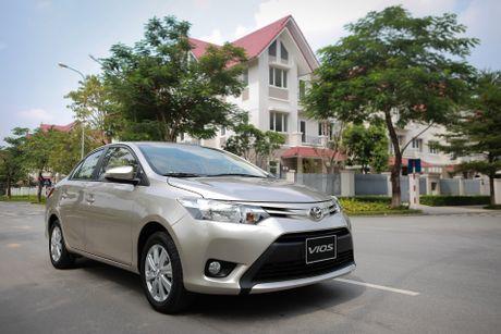 Toyota Vios 1.5E CVT 2016 gia 588 trieu - Anh 1