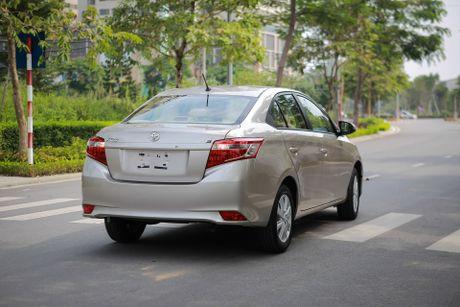 Toyota Vios 1.5E CVT 2016 gia 588 trieu - Anh 2