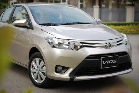 Toyota Vios 1.5E CVT 2016 gia 588 trieu - Anh 3