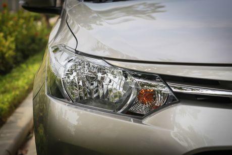 Toyota Vios 1.5E CVT 2016 gia 588 trieu - Anh 4