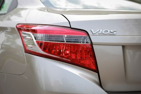 Toyota Vios 1.5E CVT 2016 gia 588 trieu - Anh 6