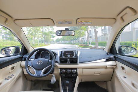 Toyota Vios 1.5E CVT 2016 gia 588 trieu - Anh 7