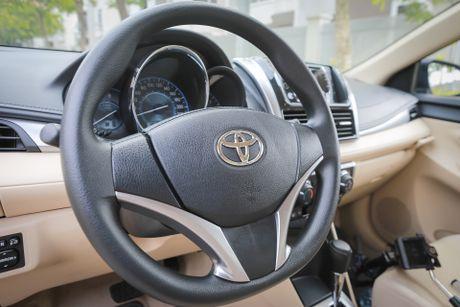Toyota Vios 1.5E CVT 2016 gia 588 trieu - Anh 8