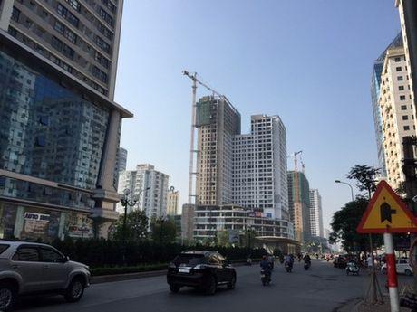 Duong Le Van Luong: 1 km tai 33 du an chung cu cao 25-35 tang - Anh 1