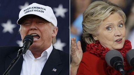 Hillary - Trump 'dau da' du doi phut chot - Anh 1