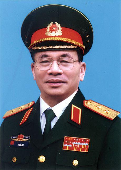 Trung tuong Le Hai Anh qua doi - Anh 1