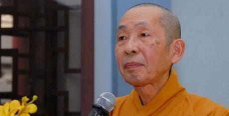 DBQH cao tuoi nhat khoa XIV - Hoa thuong Thich Chon Thien vien tich - Anh 1