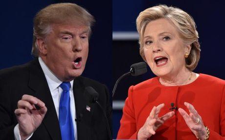 Doi dau Trump - Clinton: Nhung khoanh khac an tuong - Anh 1