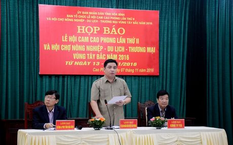 Hoi cho Nong nghiep - Du lich - Thuong mai vung Tay Bac 2016 - Anh 1