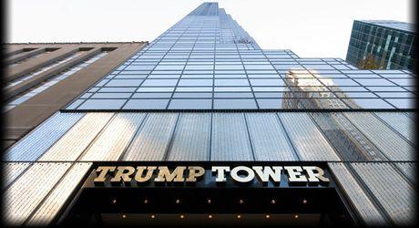 Ong Donald Trump song trong nhung can nha nhu the nao? - Anh 2
