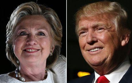 Trump - Clinton tan dung nhung phut cuoi truoc bau cu Tong thong My - Anh 1