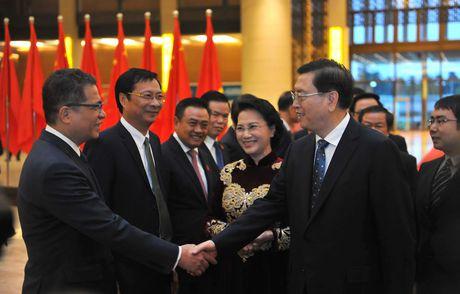 Chu tich Quoc hoi chu tri le don chinh thuc Chu tich Nhan dai Trung Quoc - Anh 2