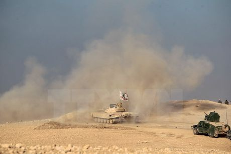 Iraq dieu tra mot ho chon tap the gan thanh pho Mosul - Anh 1