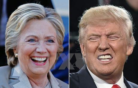 Ong Trump gianh duoc 264 phieu dai cu tri, bo xa ba Clinton - Anh 1