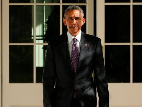 Tong thong My Barack Obama chuc mung ong Donald Trump dac cu - Anh 1