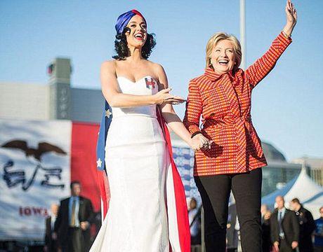 Sao Hollywood khoc nhu mua khi Hillary Clinton thua Donald Trump - Anh 4