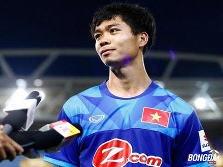 Cong Phuong, Xuan Truong va noi long ngay DT Viet Nam thang tran - Anh 1