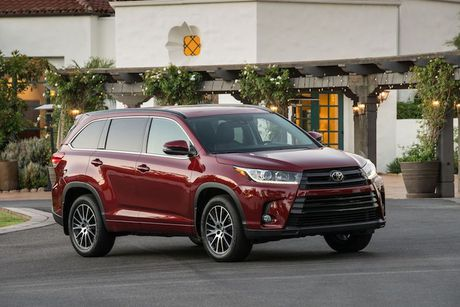 SUV Toyota Highlander 2017 'chot gia' tu 680 trieu dong - Anh 1
