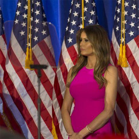 Ngam trang phuc trang nha cua vo ong Donald Trump - Anh 6