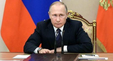 Putin chuc mung chien thang cua Donald Trump - Anh 1