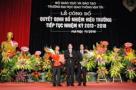Truong Dai hoc Giao thong van tai co hieu truong moi - Anh 1