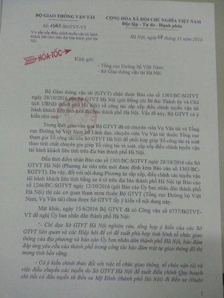 Giao thong Ha Noi truoc nguy co hon loan: Bo GTVT gui cong van Hoa toc 'thoi coi' So GTVT Ha Noi - Anh 1