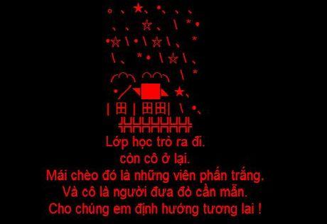Nhung tin nhan SMS hay va y nghia chuc mung ngay Nha giao Viet Nam 20/11 - Anh 1