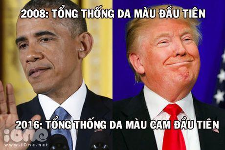Lan dau tien, My co Tong thong da... mau cam - Anh 1