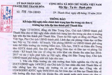 Thanh Hoa cong bo duong day nong phan anh day them, hoc them, lam thu - Anh 2
