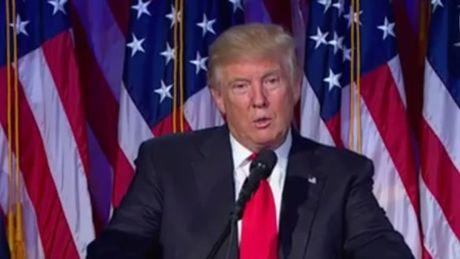 Tong thong My Donald Trump: 'Chung ta no ba Clinton mot loi cam on' - Anh 1