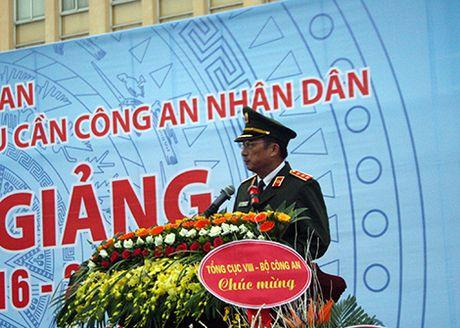 Truong Dai hoc Ky thuat-Hau can CAND khai giang nam hoc moi - Anh 1