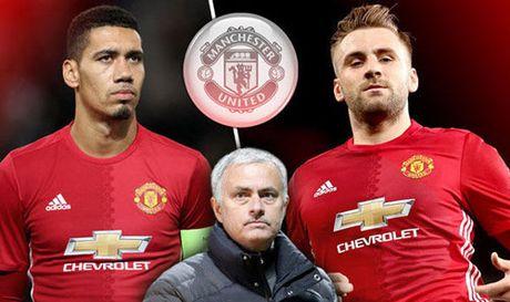 MU: Mourinho xuong nuoc, lam hoa voi Smalling, Shaw - Anh 1