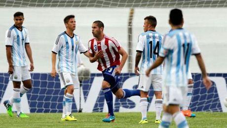 Messi thang hoa o Barca, nhung kho cuu Argentina - Anh 1