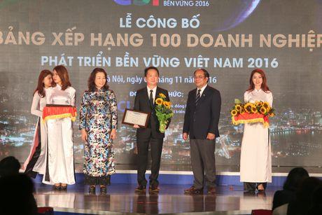 Amway Viet Nam la mot trong 100 doanh nghiep thuc hien CSRT nam 2016 - Anh 1